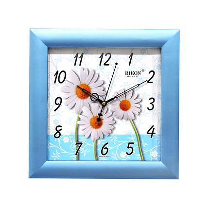 Часы настенные  Rikon 10951 PIC Blue, фото 2