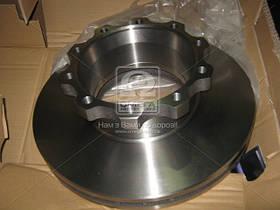 Диск гальмівний MAN F2000, TGA (94-) задній (вир-во Techno Brake). 960100 EMMERRE
