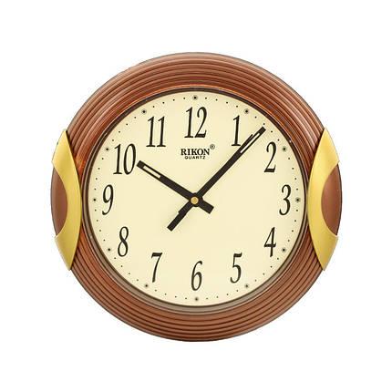 Часы настенные  Rikon 8051 Brown, фото 2