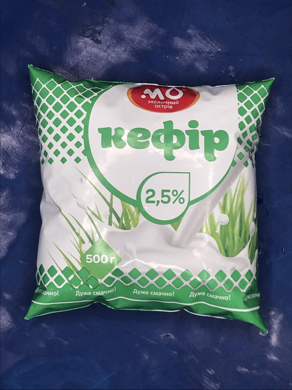 Кефир 2,5% от Малороганский молочный завод