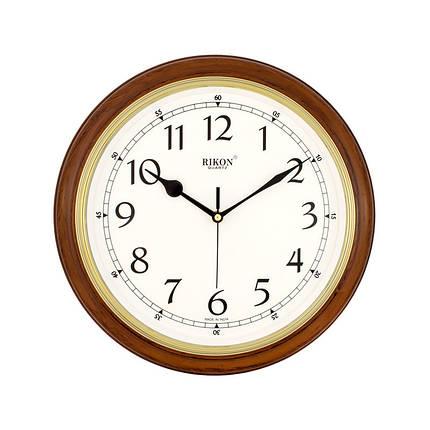 Часы настенные  Rikon 4151 Brown, фото 2