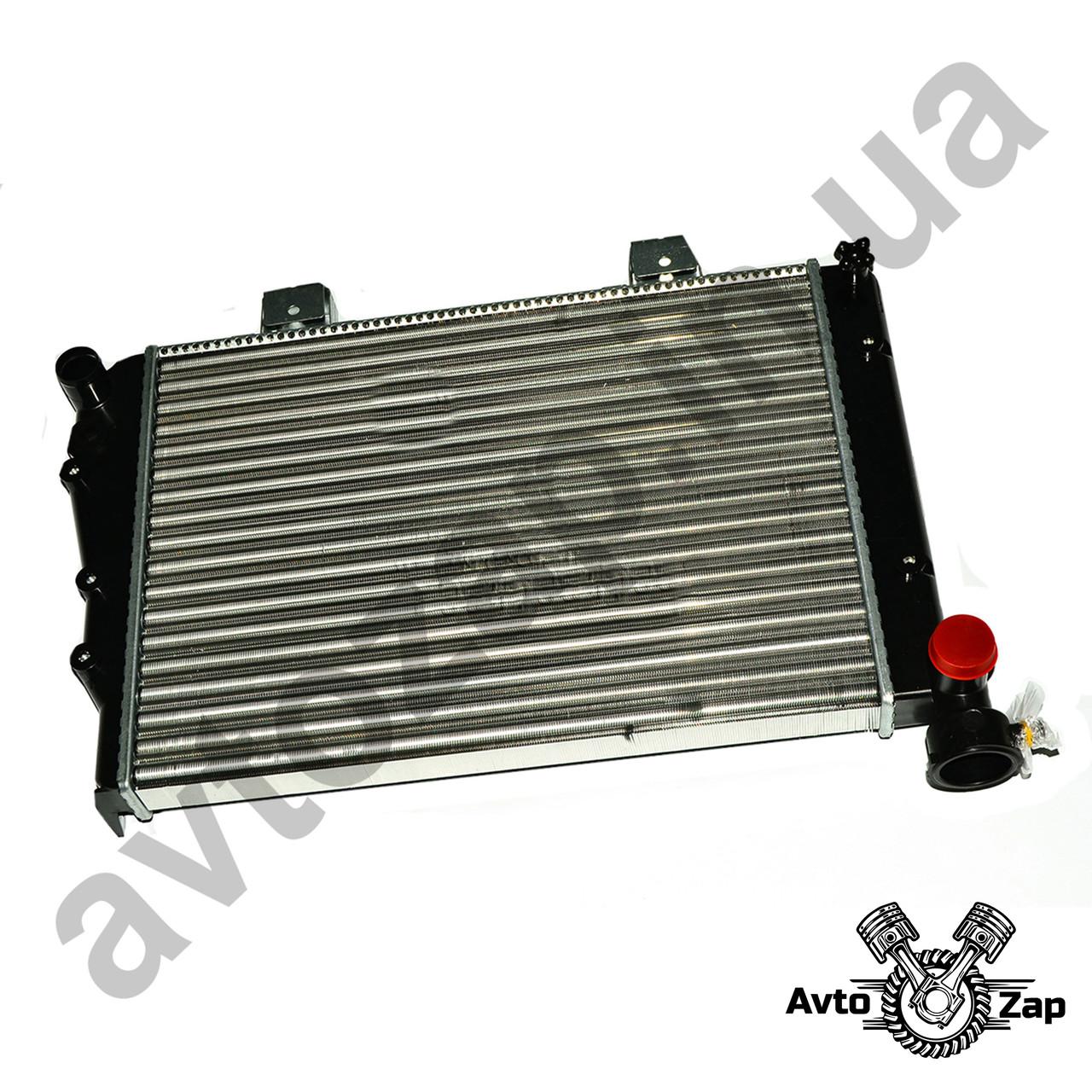 Радиатор ВАЗ 2104,2105,2107   алюм.,основной,инд.уп     03867