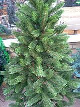 Новогодняя искусственная литая ель 1,5 метра Буковельская зеленая, фото 3