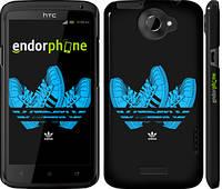 "Чехол на HTC One X+ Adidas 4 ""998c-69"""