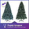 Новогодняя искусственная литая ель 1.8 метра Буковельская зеленая, фото 3