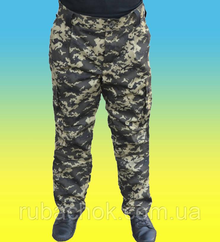 Зимние штаны брюки пиксель