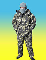 Комплект армейский зимний бушлат с утепленными штанами .