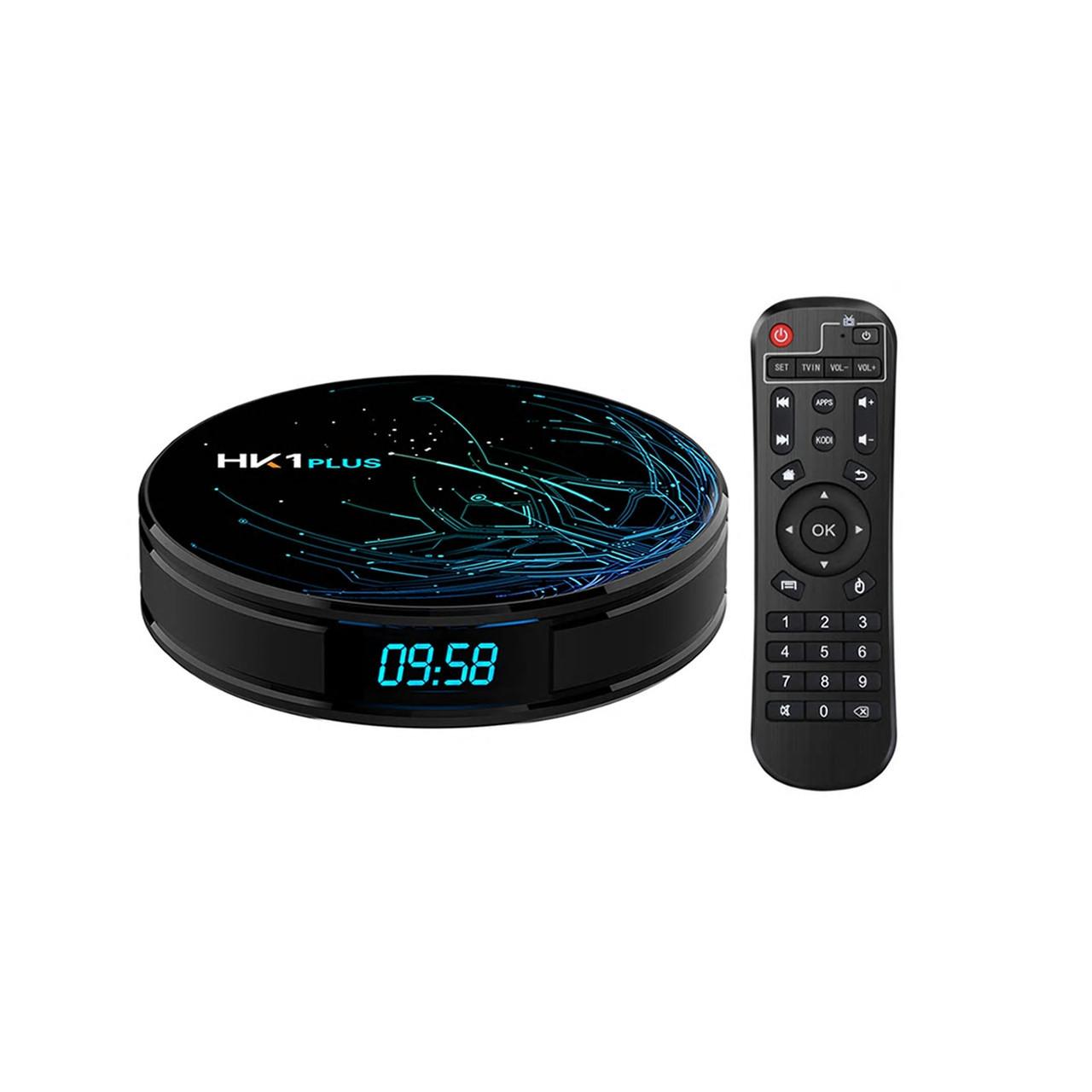 HK1 Plus 4/64 | S905X2 | Смарт ТВ Приставка | Smart TV Box