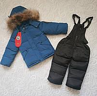Детский зимний комбинезон, комплект Canada Goose