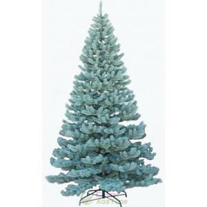 Новогодняя искусственная литая ель 2,3 метра Элитная голубая
