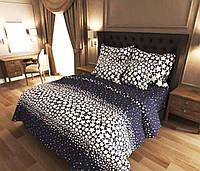 """Семейное постельное белье евро-размер с двумя пододеяльниками (12839) хлопок """"Ранфорс"""" KRISPOL Украина, фото 1"""