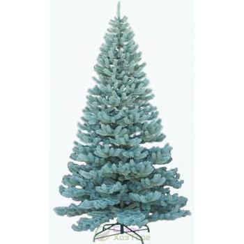 Новогодняя искусственная литая ель 2,5 метра Элитная голубая