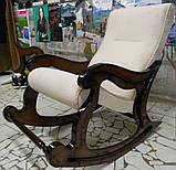 """Крісло-гойдалка """"Шерлок"""". Колір каркасу та тканини можна змінювати., фото 4"""