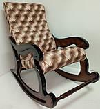 """Крісло-гойдалка """"Шерлок"""". Колір каркасу та тканини можна змінювати., фото 7"""