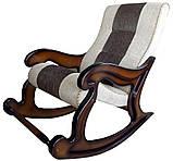 """Крісло-гойдалка """"Шерлок"""". Колір каркасу та тканини можна змінювати., фото 9"""