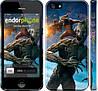 """Чехол на iPhone 5s Стражи Галактики """"2584c-21"""""""