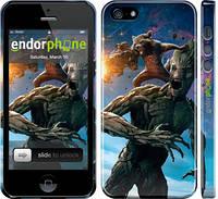"""Чехол на iPhone 5 Стражи Галактики """"2584c-18"""""""