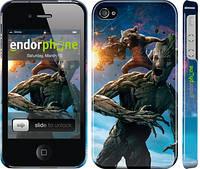 """Чехол на iPhone 4s Стражи Галактики """"2584c-12"""""""