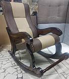 """Кресло-качалка """"Шерлок"""". Цвет каркаса и ткани можно изменять., фото 3"""