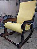 """Крісло-гойдалка """"Шерлок"""". Колір каркасу та тканини можна змінювати., фото 5"""