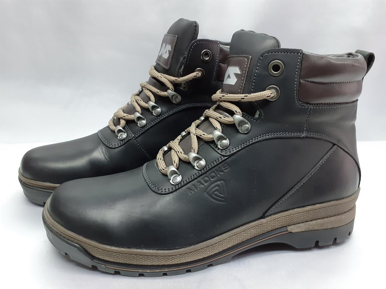 Стильні чоловічі зимові черевики Madoks