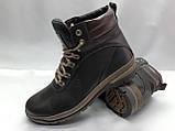 Стильні чоловічі зимові черевики Madoks, фото 2