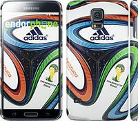 "Чехол на Samsung Galaxy S5 g900h Бразилия 2014 v5. Мяч ""1141c-24"""