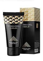 Titan Gel Gold - Гель-лубрикант для потенции, крем титан гель голд, крем для потенции титан гель