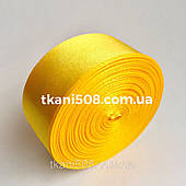 Стрічка 2,5 см - жовтий