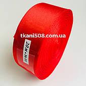 Стрічка 2,5 см - червоний
