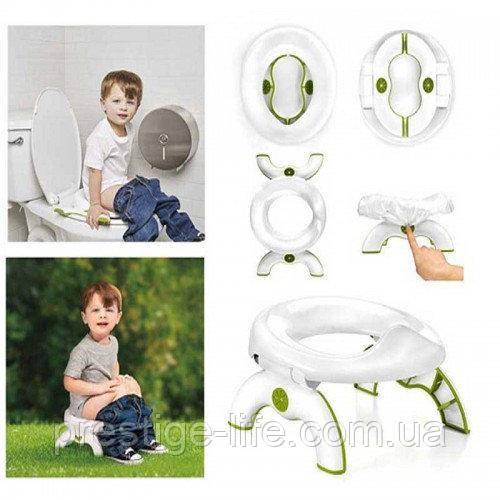 Детский дорожный туалет OXO Tot 2 в 1, детский горшок