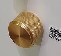 Ручка меблева кнопка Virno Lines 407/16 золото