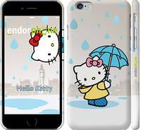 "Чехол на iPhone 6 Hello kitty. Its raining ""675c-45"""