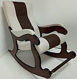 """Кресло-качалка """"Шерлок"""". Цвет каркаса и ткани можно изменять., фото 7"""