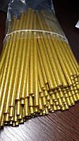 Клеевой стержень оригинал Тайвань 7 мм, золото