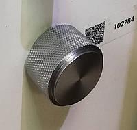 Ручка меблева кнопка Virno Lines 407/16 нержавіюча сталь, фото 1