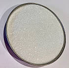 Глиттер  белый стеклянный TS005-128, 150мл, фото 2