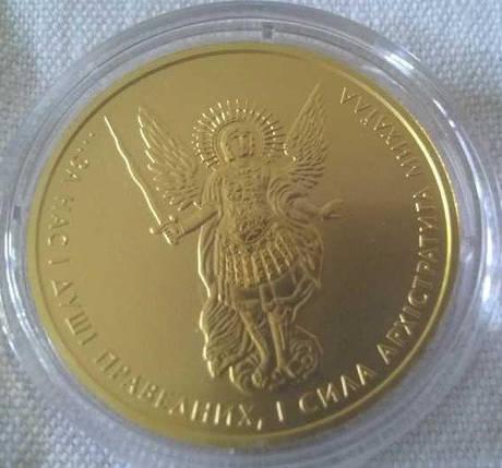 Архістратиг Михаїл монета 2 гривні 2016 3.11 грам золото (Au 999,9), фото 2
