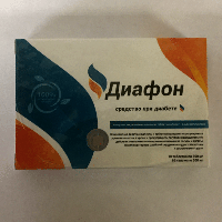 Диафон капсулы от диабета, Diafon, от диабета, от сахарного диабета, лечение диабета, капсулы от диабета