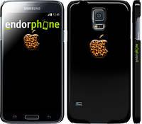 "Чехол на Samsung Galaxy S5 Duos SM G900FD Apple 4 ""2334c-62"""