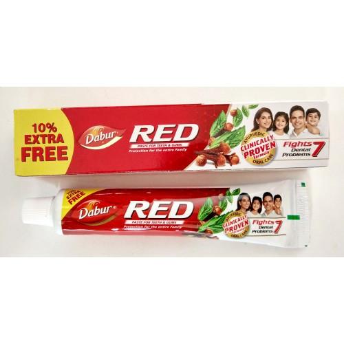 Зубная паста Ред, Red (110gm) — аюрведическая классика по уходу за полостью рта