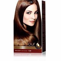 25431 Oriflame. Cтойкая краска для волос HairX TruColour - Тон 7.24., Медно-русый, 125 мл. Орифлейм 25431