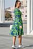 Женское цветочное платье с запахом (3775-3778-3776-3774 svt), фото 5