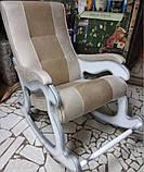 """Кресло-качалка """"Шерлок"""". Цвет каркаса и ткани можно изменять., фото 10"""