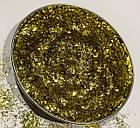 Глиттер золотой TS105 0.2*1.5 (150мл), фото 3