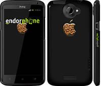 """Чехол на HTC One X Apple 4 """"2334c-42"""""""