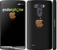 "Чехол на LG G3 D855 Apple 4 ""2334c-47"""