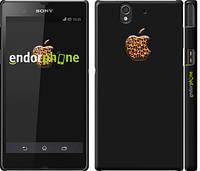"""Чехол на Sony Xperia Z C6602 Apple 4 """"2334c-40"""""""