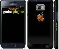 "Чехол на Samsung Galaxy S2 i9100 Apple 4 ""2334c-14"""