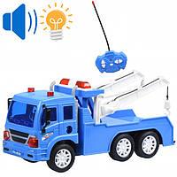 Игрушка машинка полицейский эвакуатор на радиоуправлении 25 см, Same Toy